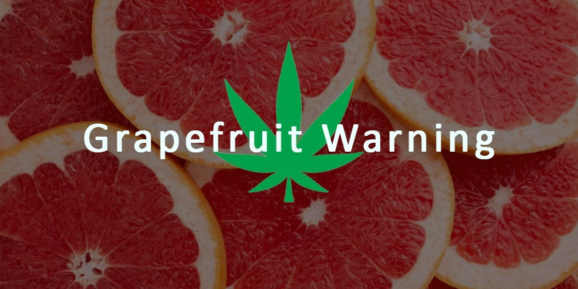 How the Grapefruit Warning Indicates if CBD May Affect Your Prescriptions